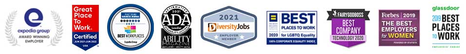 List of rewards. Expedia Group, Award Winning Employer. 2020 Best places to work for LGBTQ Equality. FairyGodBoss Best Company Technology 2020. Forbes 2019 Best Employers for Women. Glassdoor 2019 Best Places to Work.