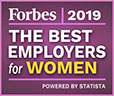 Forbes 2019 The Best Emplyers for Women